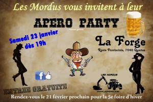 Flyer Apéro Party 2016