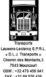 transport lauwers leclrercq