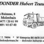 de donder hubert transport
