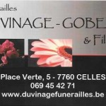 duvinage GOBERT funerailles